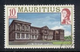 Mauritius 1978 Pictorial Carepipe College 10r FU - Mauritius (1968-...)