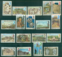 Mauritius 1978 Pictorials Asst To 25r (15 & 25r Faults) FU - Mauritius (1968-...)