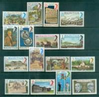 Mauritius 1978 Pictorials, Views Part Set (no 10,20c,70c, 2R)MLH Lot84733 - Mauritius (1968-...)