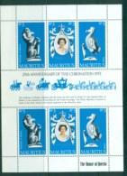 Mauritius 1978 QEII Coronation, 25th Anniversary , Royalty MS MUH - Mauritius (1968-...)