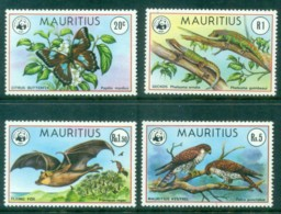 Mauritius 1978 WWF Endangered Species MLH Lot84735 - Mauritius (1968-...)