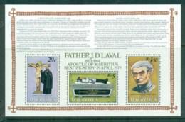 Mauritius 1979 Baetification Of Father Laval MS MUH - Mauritius (1968-...)