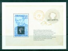 Mauritius 1979 Rowland Hill MS MUH - Mauritius (1968-...)