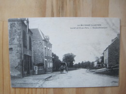 Saint Cyr En Pail - Route D'Alencon - France
