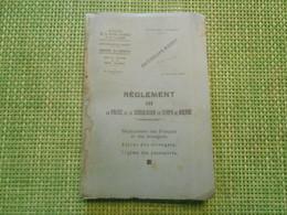 Militaria. Ministère De La Guerre. Réglement Sur La Circulation En Temps De Guerre. 1937. - Army & War