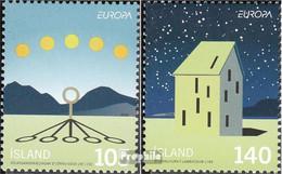 Island 1242-1243 (kompl.Ausg.) Postfrisch 2009 Europa - 1944-... Republik