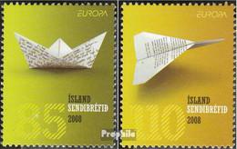 Island 1205-1206 (kompl.Ausg.) Postfrisch 2008 Europa - 1944-... Republik