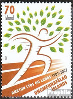 Island Mi.-Nr.: 1161 (kompl.Ausg.) Postfrisch 2007 UMFI - 1944-... Republik