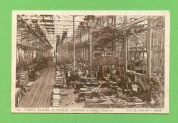 CPA FRANCE 16  ~  RUELLE  ~  22  Fonderie Nationale - Atelier D'ajustage  ( A. Foucher )  2 Scans  Animée - Francia