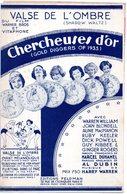 PARTITION MUSIQUE.FILM CHERCHEUSES D'OR.VALSE.WARREN WILLIAM.FELDMAN.  Achat Immédiat - Partitions Musicales Anciennes