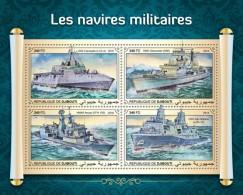 Djibouti 2018  Military Ships  S201808 - Djibouti (1977-...)