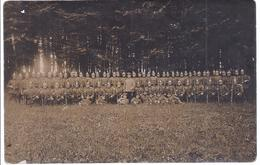 Soldatenkompagnie In Pickelhauben - Feldpost   -  AK -10.000-037 - Régiments