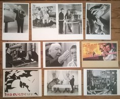 Lot De 14 Cartes Postales Cinéma HITCHCOCK - Artistes