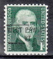 USA Precancel Vorausentwertung Preo, Locals Vermont, West Pawlet 841 - Vereinigte Staaten