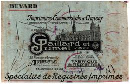 Im A/Buvard Imprimerie Amiens (Format 13.5 X 21) (N= 1) - Buvards, Protège-cahiers Illustrés