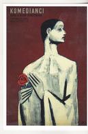 Uncirculated Postcard - Movies - Les Enfants Du Paradis ( 1955 Polish Poster) - Afiches En Tarjetas