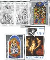 Vatikanstadt 701-702 Couple,703-704,717 (complete Issue) Unmounted Mint / Never Hinged 1977 Gregor XI., Assumption, Rube - Vatican