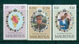 Mauritius 1981 Charles & Diana Wedding  MUH Lot45084 - Mauritius (1968-...)