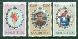 Mauritius 1981 Royal Wedding, Charles & Diana MLH - Mauritius (1968-...)