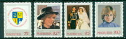 Mauritius 1982 Princess Diana 21st Birthday MLH - Mauritius (1968-...)