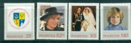 Mauritius 1982 Princess Diana 21st Birthday MLH Lot81971 - Mauritius (1968-...)