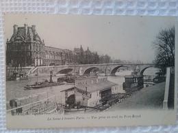 Paris Parijs         (peniche )schiffe Arken - Péniches