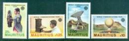 Mauritius 1983 World Communications Year MUH - Mauritius (1968-...)
