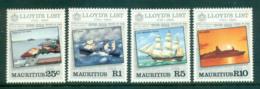 Mauritius 1984 Lloyd's List MUH Lot55413 - Mauritius (1968-...)