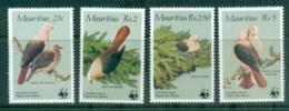 Mauritius 1985 WWF Birds, Pink Pigeon MUH - Mauritius (1968-...)