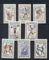 Morocco 1960 Summer Olympics Rome MUH - Morocco (1956-...)