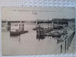 Alfortville         (peniche )schiffe Arken - Péniches