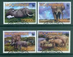 Mozambique 2002 WWF Savannah Elephant FU Lot81614 - Mozambique