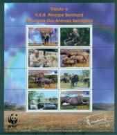 Mozambique 2002 WWF Savannah Elephant MS MUH Lot76207 - Mozambique