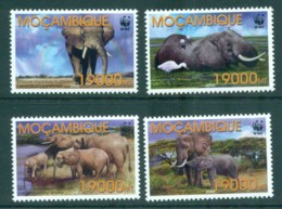 Mozambique 2002 WWF Savannah Elephant MUH Lot73157 - Mozambique