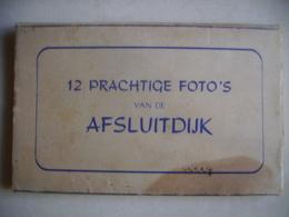 Pays Bas Afsluidijk Carnet De 12 Cartes Photos Construction De Digues - Den Oever (& Afsluitdijk)