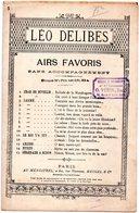 PARTITION MUSIQUE.Numéro 5. LAKME.  LEO DELIBES.GONDINET Et GILLE  Achat Immédiat - Partitions Musicales Anciennes