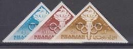 KHOR FAKKAN       1965      N°   3 / 5         COTE     6 € 50             ( Q 92 ) - Khor Fakkan