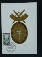 Carte Maximum Card Médaille De L'Ordre De La Libération 1960 - Guerre Mondiale (Seconde)
