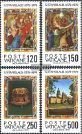 Vatikanstadt 739-742 (complete Issue) Unmounted Mint / Never Hinged 1979 Holy. Stanislaus - Vatican