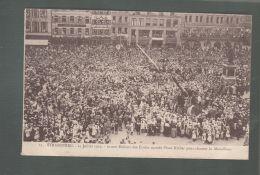 CPA (67) Strasbourg  -  14 Juillet 1919 - 10 000 Enfants Des écoles Massés Place Kléber Pour Chanter La Marseillaise - Strasbourg