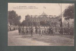 CPA (67) Strasbourg  -  14 Juillet 1919 -  Défilé Des Elèves Du Centre D'Instruction Militaire - Strasbourg