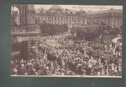 CPA (67) Strasbourg  -  14 Juillet 1919 -  Défilé D'Alsaciennes - Place De La République - Strasbourg