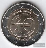 Italy 2009 Stgl./unzirkuliert Stgl./unzirkuliert 2009 2 Euro E.M.u. - 10 Years Currency - Italy