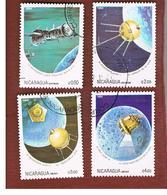 NICARAGUA - SG  2584.2589    -    1984  SPACE ANNIVERSARIES   -  USED° - Nicaragua