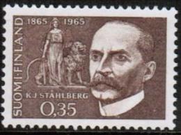 1965  Ståhlberg ** Mnh - Nuevos