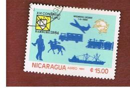NICARAGUA - SG  2607    -    1984  19^  U.P.U. CONGRESS -  USED° - Nicaragua