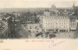 Liège - Place St-Lambert Et Place Verte - Liege