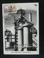Carte Maximum Card Emile Mayrish (Luxembourg) Acier Iron Hauts Fourneaux Strasbourg 1963 (ex2) - 1960-69
