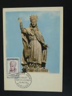 Carte Maximum Card Pape Sylvestre II Astronome 15 Aurillac Cantal 1964 - Astronomia