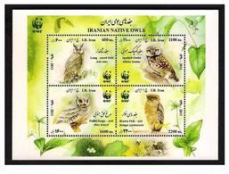 Wwf Owls Sheet 2011 Iran - Owls